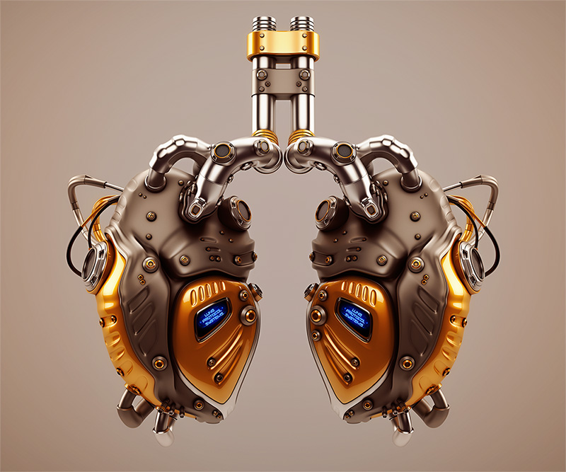 lungs robotic