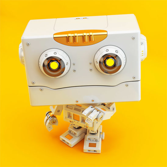 lovely retro robot