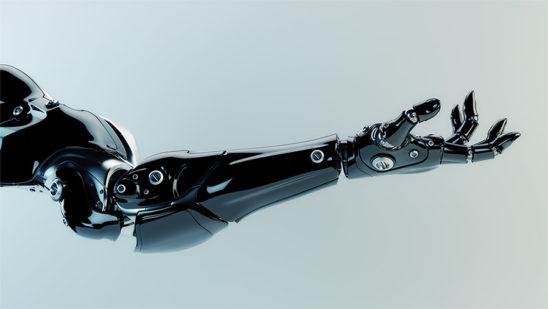 cyber arm, robot hand
