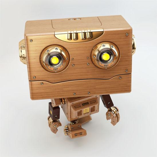 robot toy walking