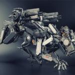robot police panther