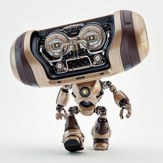 Walking robot Cheburashka