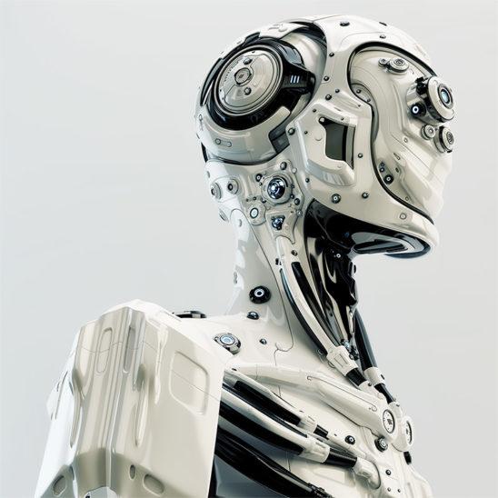 robot pilot with lenses