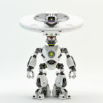 robot dish head plate bot