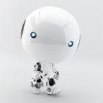 toddler robot walking