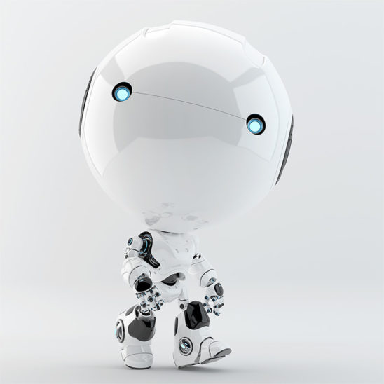 walking toddler robot