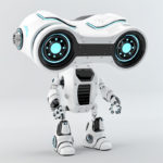 loo-see robot binocular