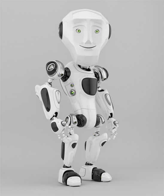 human-like robotic craeture