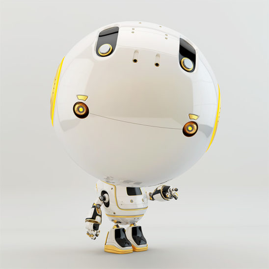 pointing showing robot toddler toy