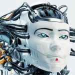 robotic geisha girl