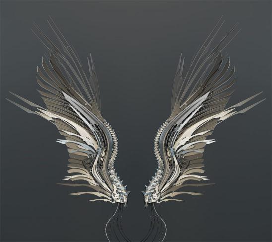 robotic wings