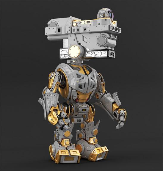 assistant bot, robotic creature