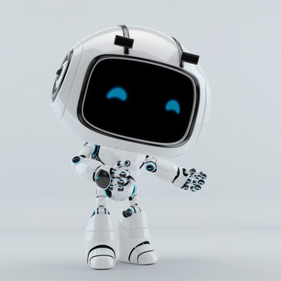 unit 9 robot gesturing