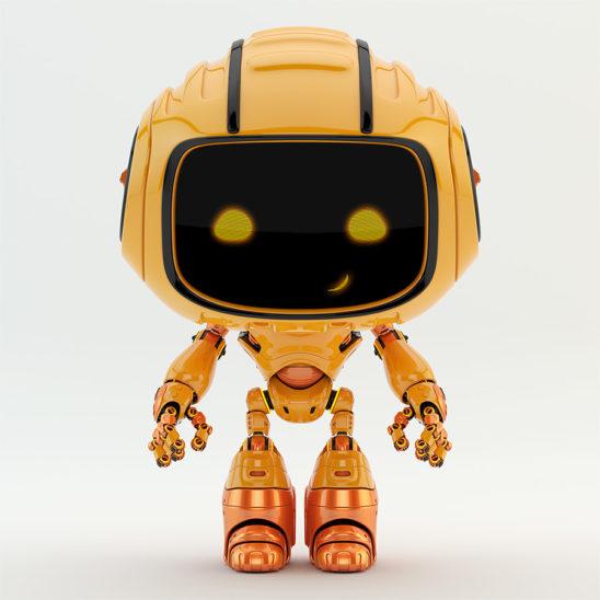 robotic engineer toy