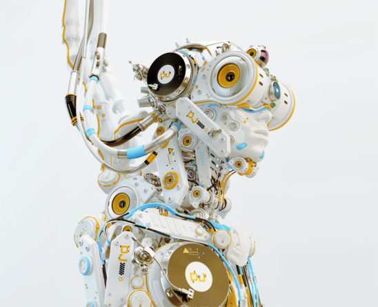 robotic dj