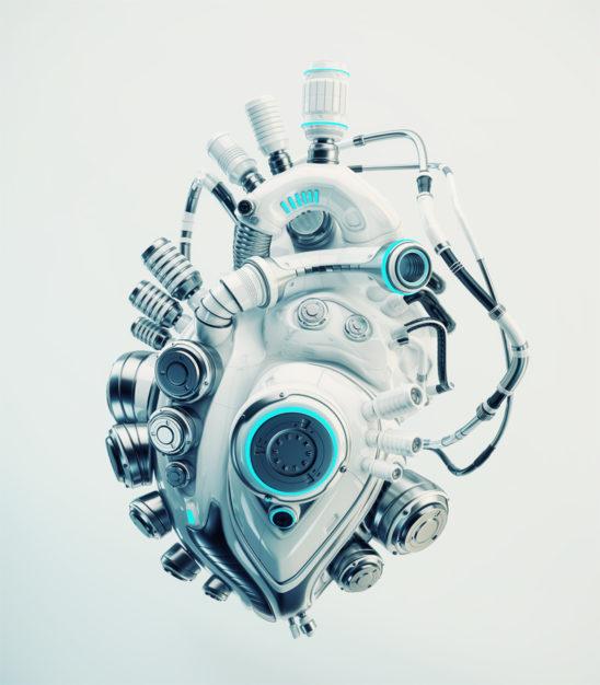 robotic replacement organ heart