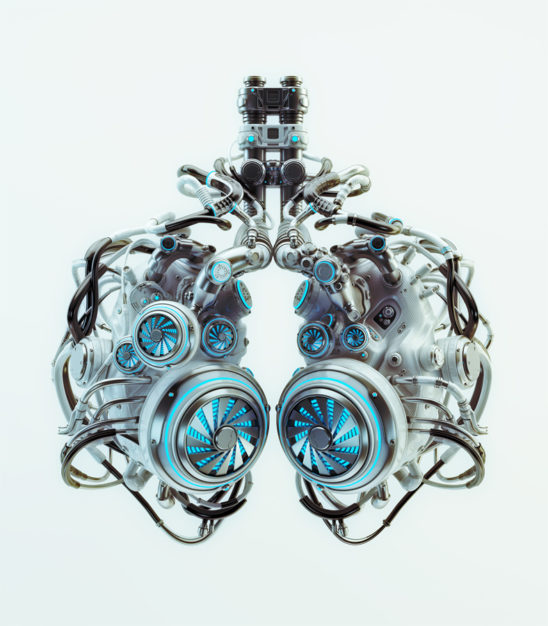 robotic lungs system