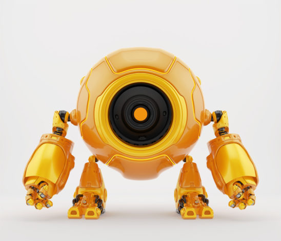 Circleodion - smart robot with big round body-head