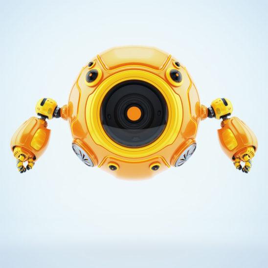 Smart aerial diver bot