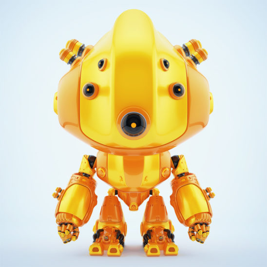 Faithful robotic toy following you anywhere