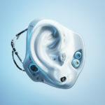 Futuristic robot hearing replacement organ