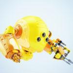 Slogger robot levitating with instrument