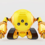 Slogger robot on tracks