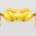 Aerial orange look-see robot