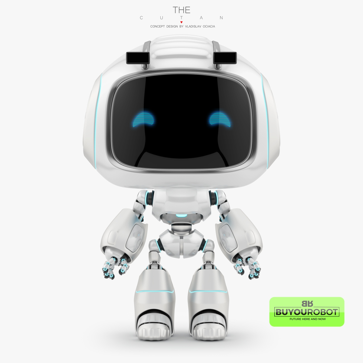 CUTAN VII Robot 3d Model • Buyourobot