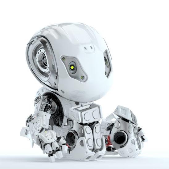 Sitting robot bbot