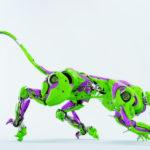 Wild panther robot