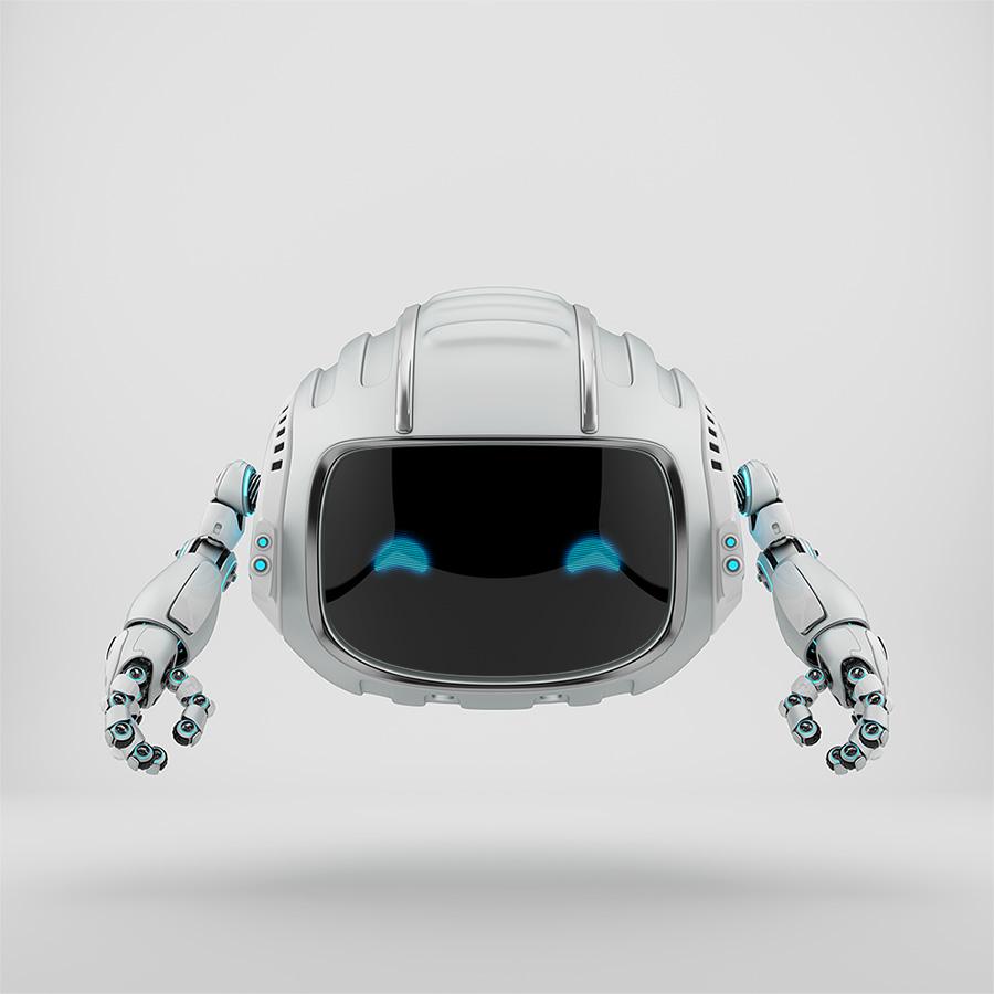 Aerial cutan robotic toy