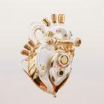 White rich heart