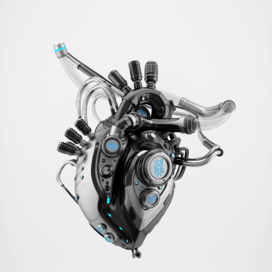 Dark sci-fi heart