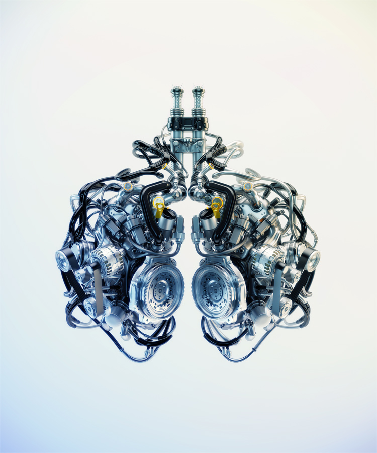 Cyber lungs IV