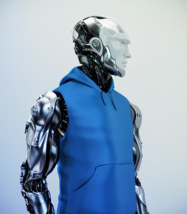 Mannequin fashion robot