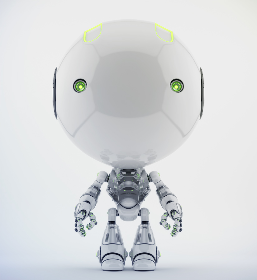 Clean white toddler with transparent torso