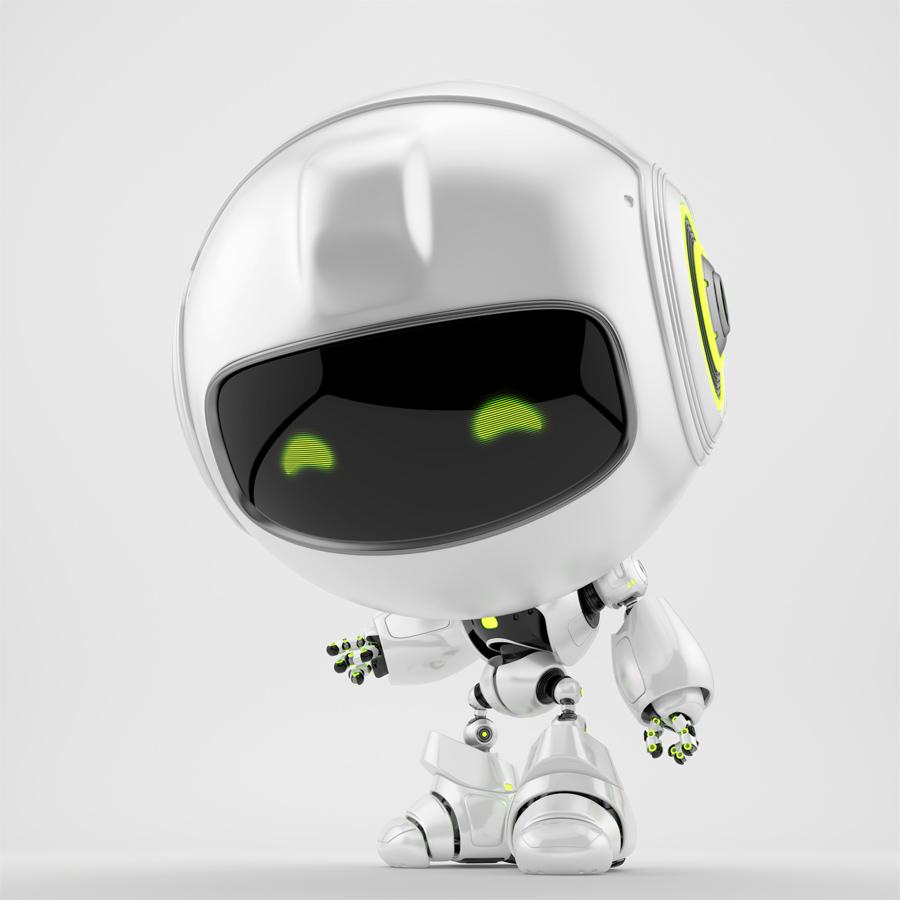 Pearl PR robot showing you something