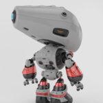 Unique silver mod bot backwards