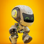 robot toy walking mocco