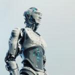 Husky robot with transparent stomach