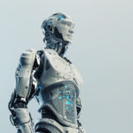 Husky robot with transparent stomach II