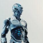 Husky robot with transparent stomach IV