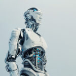 Husky robot with transparent stomach VI
