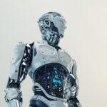 Husky robot with transparent stomach VII